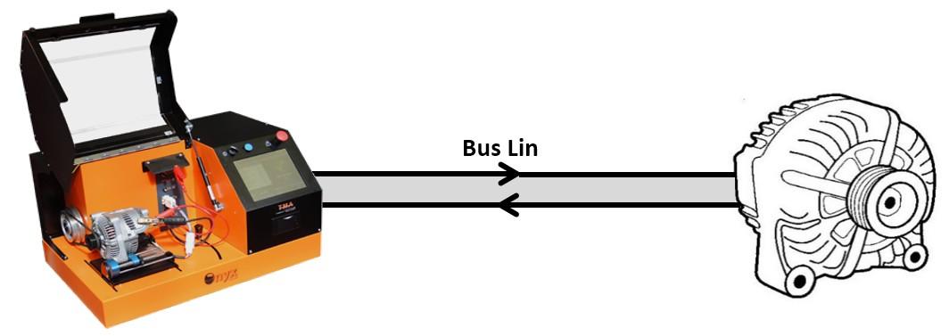 Connection TMA ONYX LIN alternator